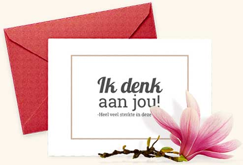 Welp Condoleance teksten - tekst voorbeelden | Memori.nl GQ-42