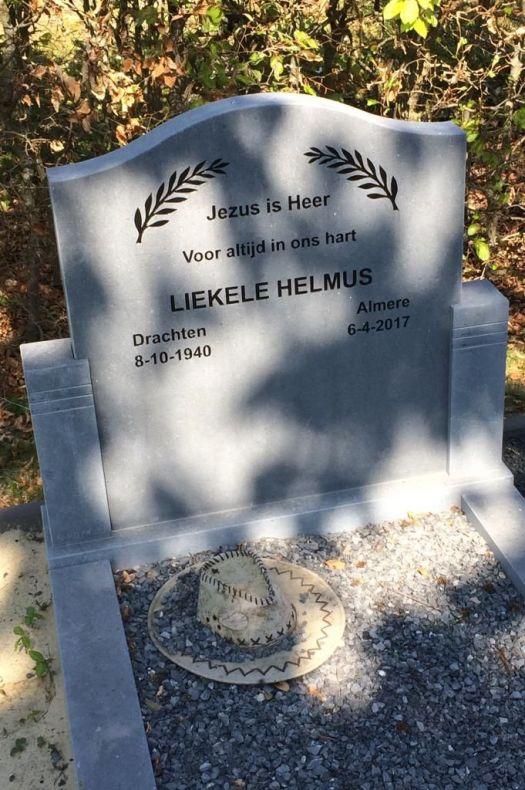 Ter Herinnering Aan Liekele Helmus Memori Nl